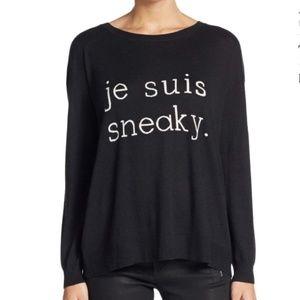 Joie Black Eloisa Je Suis Sneaky Sweater Size - S